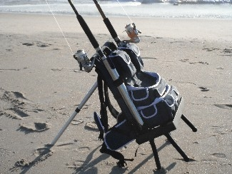New jersey fishing reports for Fishing backpack with rod holder