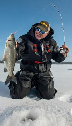 New jersey fishing reports for Frabill ice fishing suit